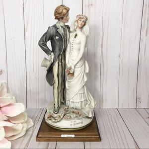 Vintage Giuseppe Armani Bride Groom Figurine RARE